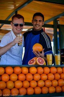 sok ze świżych pomarańczy też jest pyszny!