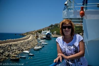 dopływamy do Gozo