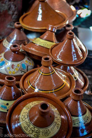 gliniane naczynie - tadżin