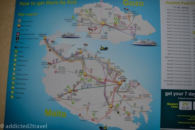 Po Malcie można z łatwością poruszać się komunikacją miejską