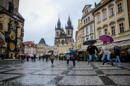 deszczowa Praga
