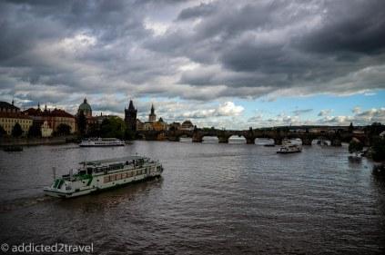 Widok na Most Karola