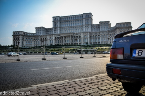 Budynek Parlamentu w Bukareszcie