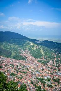 Panorama Braszowa