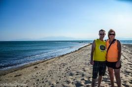 spiczasta plaża koło Epanomi