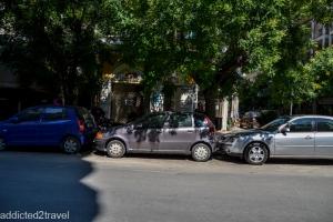 tak parkuje się w Grecji