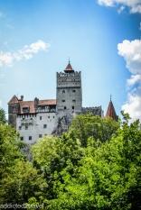 Słynny zamek Drakuli w Branie