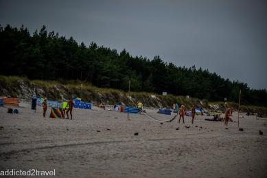 plaża nudystów w okolicach Grzybowa